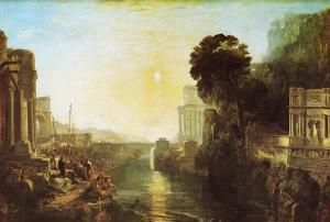 """Dido Building Carthage,"" b JMW Turner"