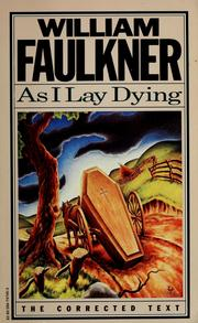 faulkner as I lay dying 6614355-M