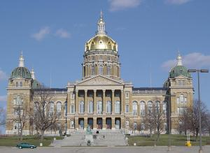 The Capitol in Des Moines.