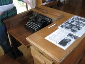 Bess Streeter Aldrich's desk