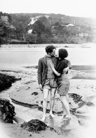 Pamela and Dylan Thomas