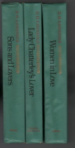 d. h. lawrence book club editions 026410