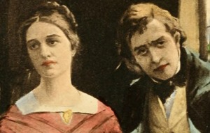 Illustration of Dorothea and Will Ladislaw, publishe by the Jenson Society in 1910.