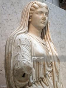 Livia roman sculpture 498349221