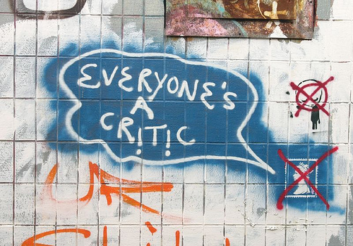Everyone's a Critic 43060641_b3494810a6