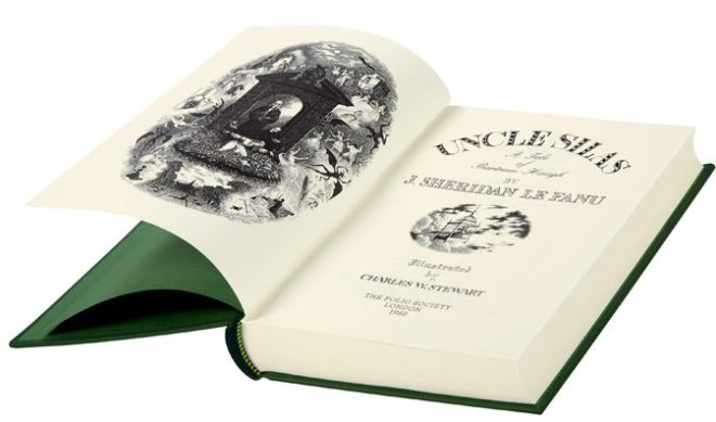The Folio Society edition of Uncle Silas.