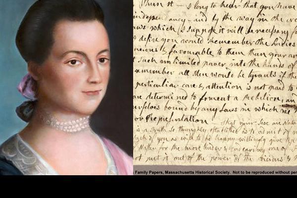 abigailadams-portrait-letter