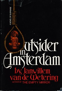 outsider in amsterdam hardcover van de wetering 46961
