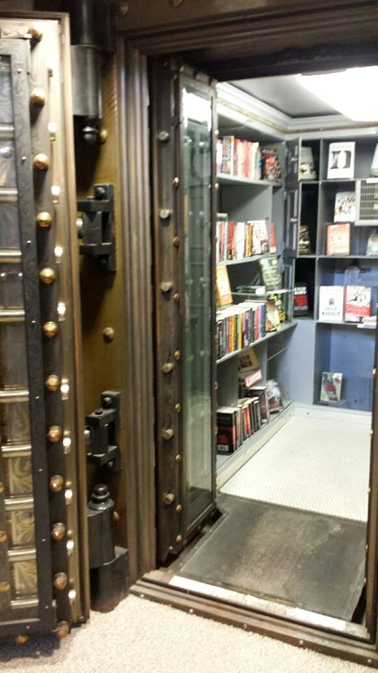 The Mystery of the Book Vault:  Uh, the mysteries ARE in the vault!