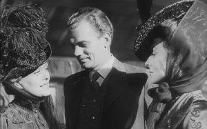 Dolores Costello, Joseph Cotten and Agnes Moorehead in The Magnificent Ambersons