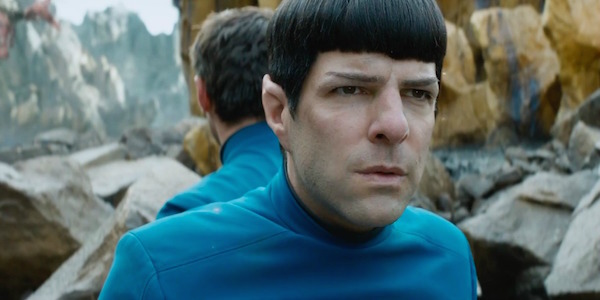 "Spock (Zachary Quinto) in ""Star Trek Beyond"""