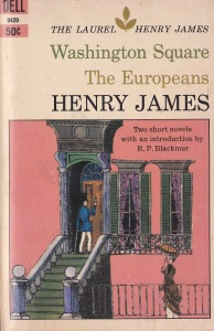 henry james europeans Blackmur