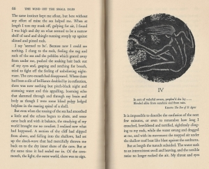 Excerpt from an earlier edition of The Wind off the Small Isles.