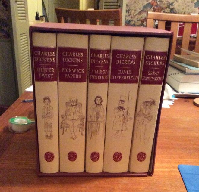 My Dickens set!