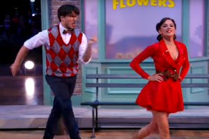 Gleb in glasses on Dancing with the Stars