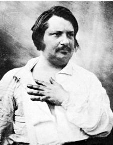 Balzac, a strange-looking gent, no?
