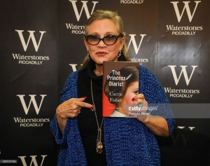 Carrie at Waterstones