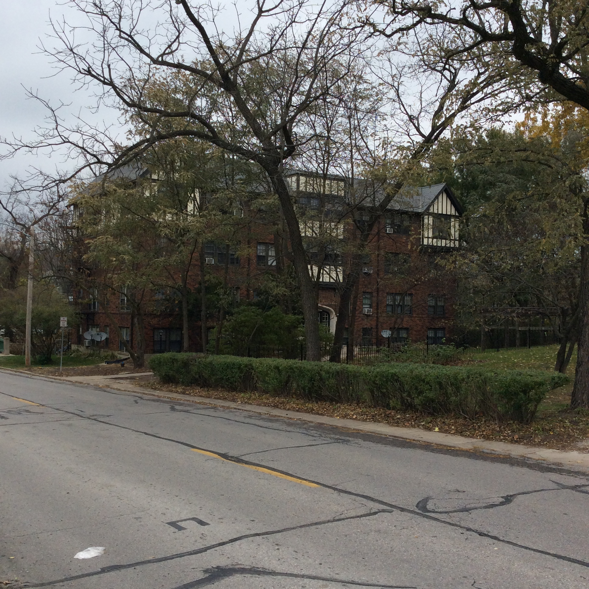 Apartment House In Iowa City Where I Did Laundry