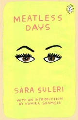 Sara Suleri_s Meatless Days penguin cover