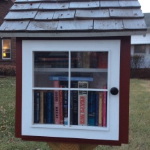 a very nice little free library lfl
